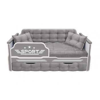 Кровать-диван для мальчиков СПОРТ с одним ящиком (183х88)