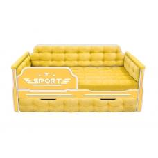 Кровать-диван для мальчиков СПОРТ с одним ящиком (193х88)