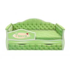 Кровать-диван для девочек ИЛЛЮЗИЯ с двумя ящиками (193х88)