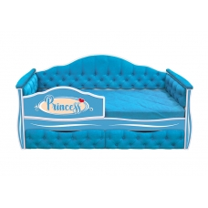 Кровать-диван для девочек ИЛЛЮЗИЯ с двумя ящиками (173х88)