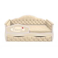 Кровать-диван для девочек ИЛЛЮЗИЯ с выдвижным ящиком (193х88)