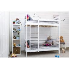 Детская кровать Altezza двухъярусная белая