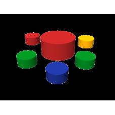 Мягкая мебель (6 элементов)