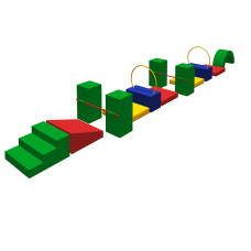 Спортивный модуль «Крокодил»