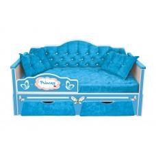 Кровать серии ИЛЛЮЗИЯ с двумя ящиками (168х85)