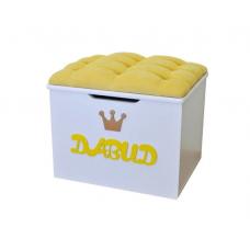 Ящик-Пуфик серии ИЛЛЮЗИЯ желтый