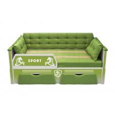 Кровать серии СПОРТ с двумя ящиками (178х85)