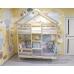 Кроватка-домик «Двухъярусная Особая» 180x90