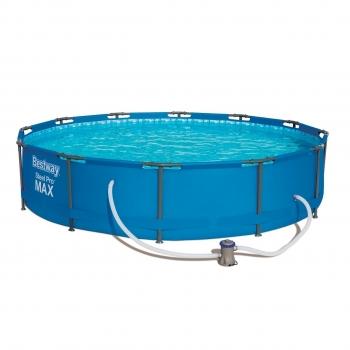 Бассейн каркасный Steel Pro Max 366*76 см (в комплекте:насос с фильтром) 56416