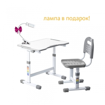 КОМПЛЕКТ ПАРТА + СТУЛ ТРАНСФОРМЕРЫ FUNDESK SOLE II