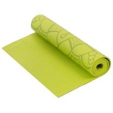 Коврик для фитнеса и йоги Larsen AS4 PVC с принтом