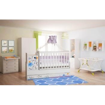 Кроватка детская ФЕЯ 1100