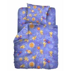 Комплект постельного белья 1,5сп бязь Космостар