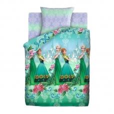 Комплект постельного белья 1,5сп бязь Анна и Эльза