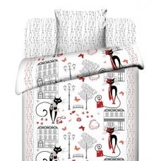 Комплект постельного белья 1,5сп бязь Гламурная прогулка