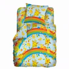 Комплект постельного белья 1,5сп бязь Веселый счет