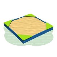 Песочница (2 x 2, фанера) 109.33.00