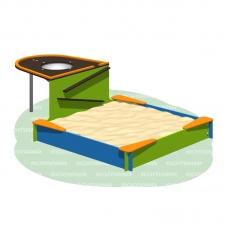 Песочница-столик с емкостью 109.37.00