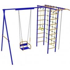Спортивно-игровой комплекс Вереск Модель № 3 с качелями на подшипниках/цепях