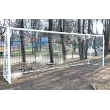 Ворота футбольные алюминиевые 7.32 х 2.44 м. переносные (пара)