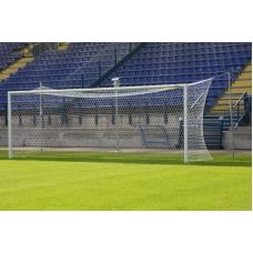 Ворота футбольные алюминиевые FIFA 7.32 х 2.44 м. бетонируемые в стаканы (пара)