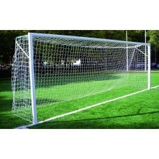 Ворота футбольные стационарные 7.32 х 2.44 м (пара)