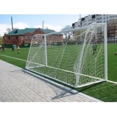 Ворота футбольные переносные 7.32 х 2.44 м (пара)