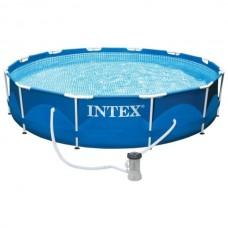 Бассейн каркасный Intex 28212 (366х76см)+насос-фильтр