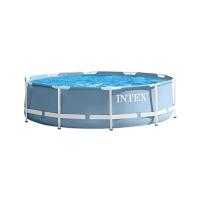 Каркасный круглый бассейн 366x76 см, 6503 л, Intex Prism Frame, голубой