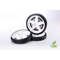 Объемные пластиковые колеса для серии UNO/EVO/NEO(2 шт.)(Белый)