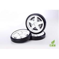 Объемные пластиковые колеса для серии LIGHT(комп. 2 шт.)Белый
