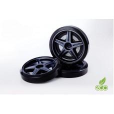 Объемные пластиковые колеса для серии LIGHT,(комп. 2 шт.)черный