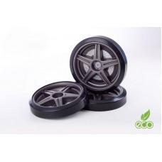 Объемные пластиковые колеса для серии LIGHT,(комп. 2 шт.)графит