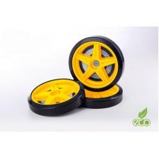 Объемные пластиковые колеса для серии LIGHT,(комп. 2 шт.)желтый