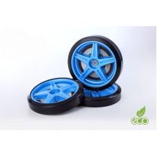 Объемные пластиковые колеса для серии LIGHT,(комп. 2 шт.)синий