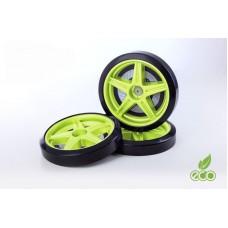 Объемные пластиковые колеса для серии LIGHT,(комп. 2 шт.)зеленый