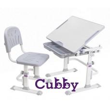 Cubby детская парта для дома со стульчиком (LUPIN GREY)