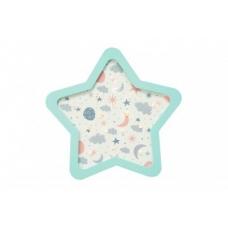 Детский светодиодный ночник «Звезда» Мятный