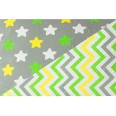 Детское постельное белье «Звёзды-Зигзаги»