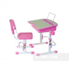 Детская парта и стул для дома FUNDESK CAPRI PINK