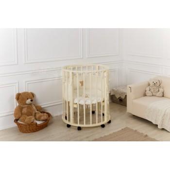 Кровать Incanto GIO 5 в 1, цвет слоновая кость
