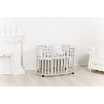 Кровать Incanto MIMI 7 в 1, цвет серый