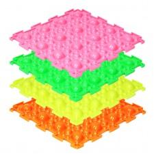 Модульные коврики ОРТО, флуоресцентные, Камни мягкие (1 пазл)