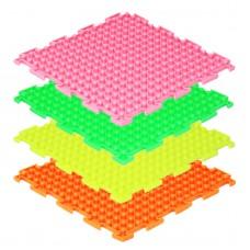 Модульные коврики ОРТО, флуоресцентные, Шипы (1 пазл)