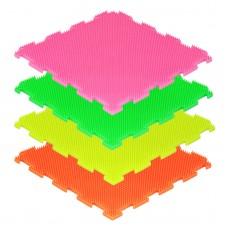 Модульные коврики ОРТО, флуоресцентные, Трава мягкая (1 пазл)