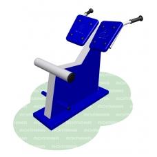 Тренажер для спины наклонный