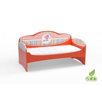 Диван-кровать для девочек Mia Красный
