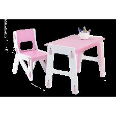 Детский стол+стул Играем-Собираем