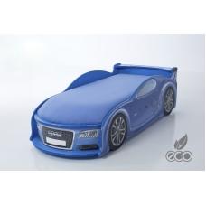 """Кровать-машина """"Ауди-А4"""" синяя"""