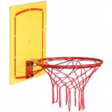 Баскетбольный щит с кольцом, уличный ЮНЫЙ АТЛЕТ